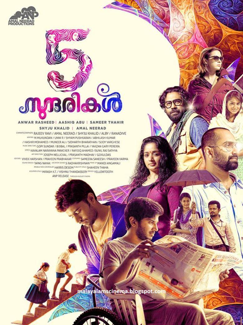 5 Sundarikal movie poster