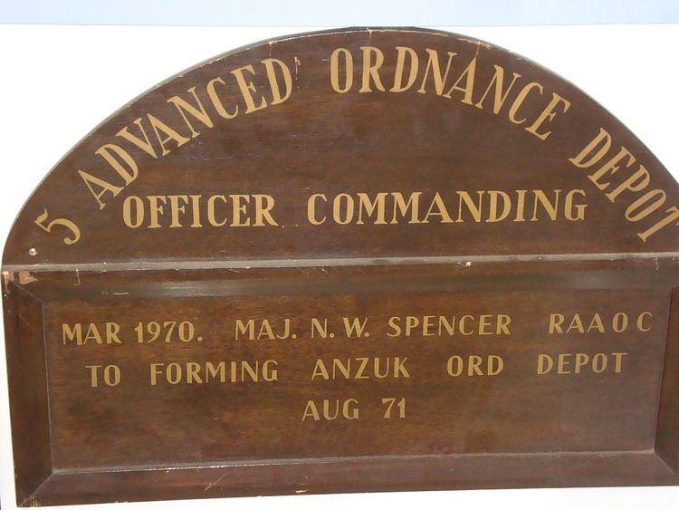 5 Advanced Ordnance Depot