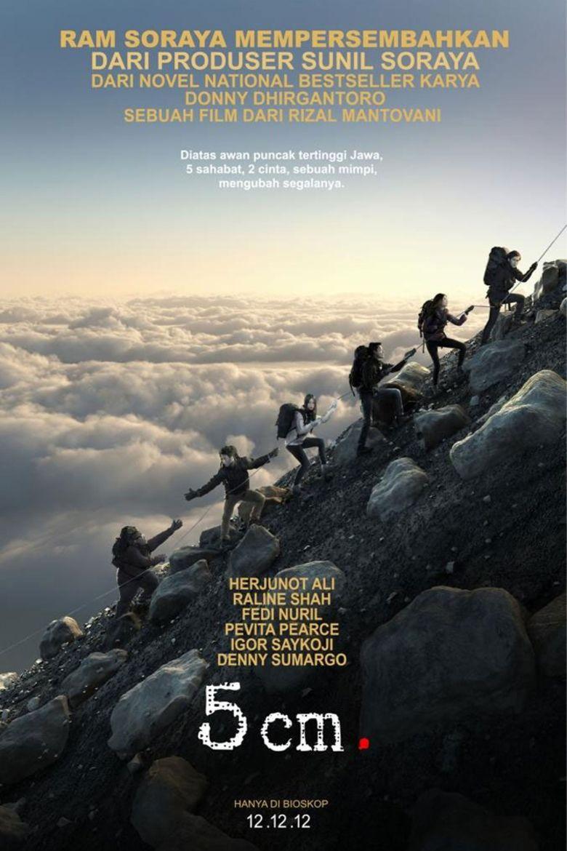 5 cm (film) movie poster