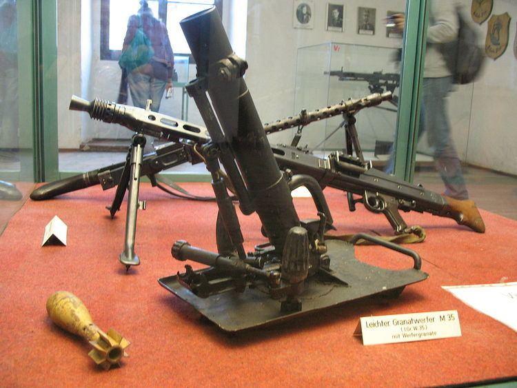 5 cm Granatwerfer 36