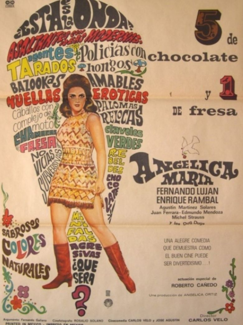5 de chocolate y 1 de fresa movie poster