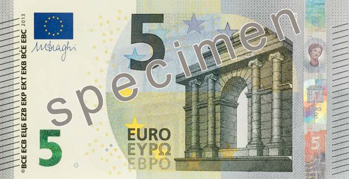 5 euro note