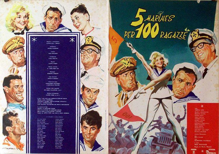 5 marines per 100 ragazze 5 MARINES PER 100 RAGAZZE MOVIE POSTER 5 MARINES PER 100 RAGAZZE