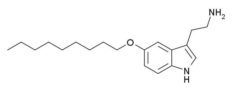 5-(Nonyloxy)tryptamine