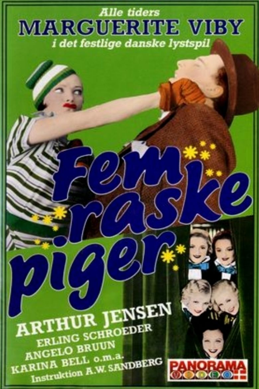 5 raske piger movie poster