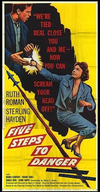 5 Steps to Danger Five Steps To Danger movie posters at movie poster warehouse
