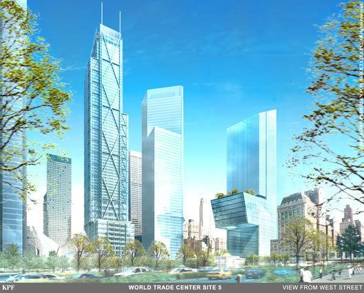 5 World Trade Center The Status of the World Trade Center Complex 14 Years Later Curbed NY