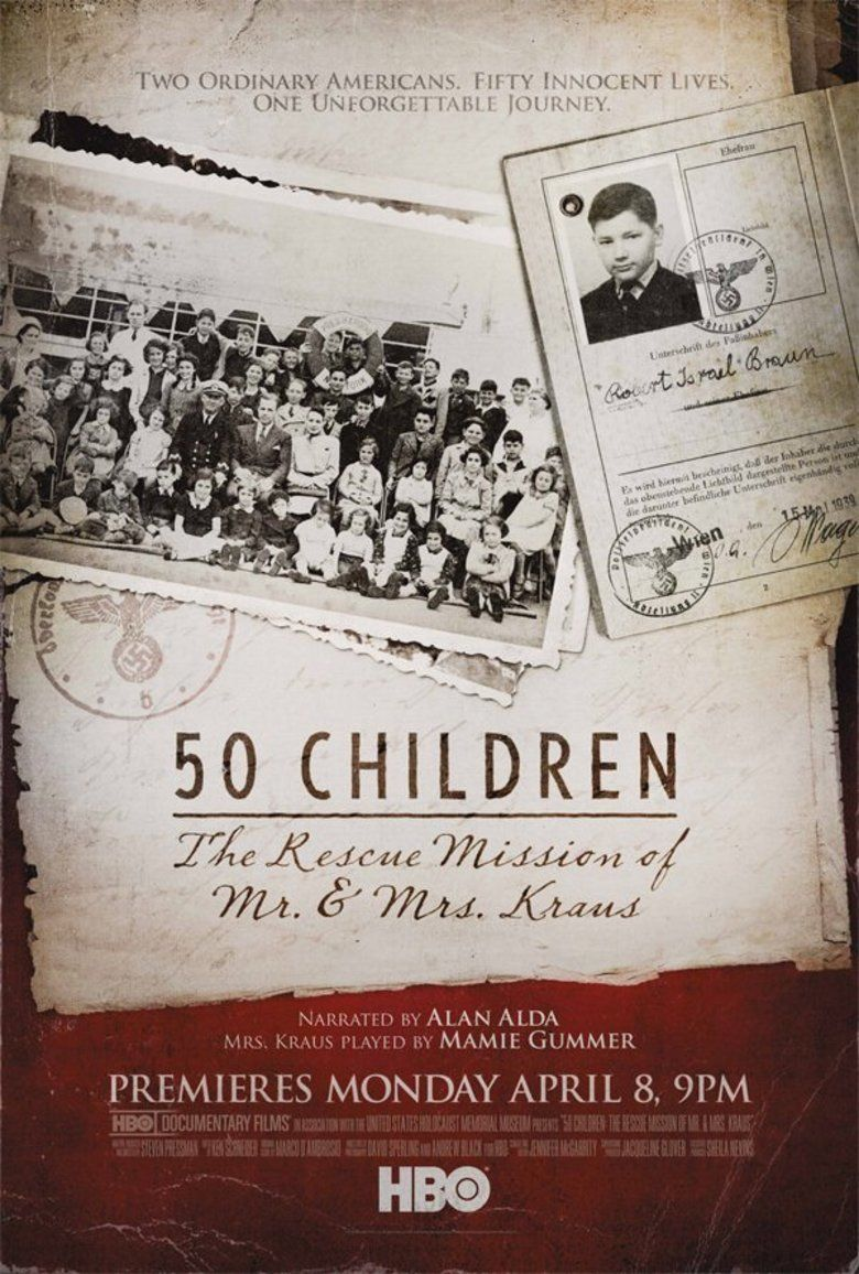 50 Children: The Rescue Mission of Mr and Mrs Kraus movie poster