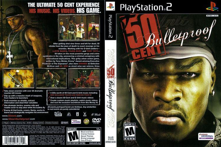 50 Cent: Bulletproof wwwtheisozonecomimagescoverps27jpg