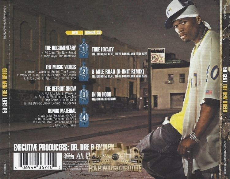 50 Cent: The New Breed 50 Cent The New Breed CD Rap Music Guide