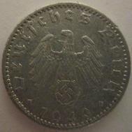 50 Reichspfennig (World War II German coin)