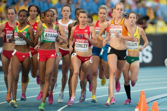 5000 metres at the World Championships in Athletics
