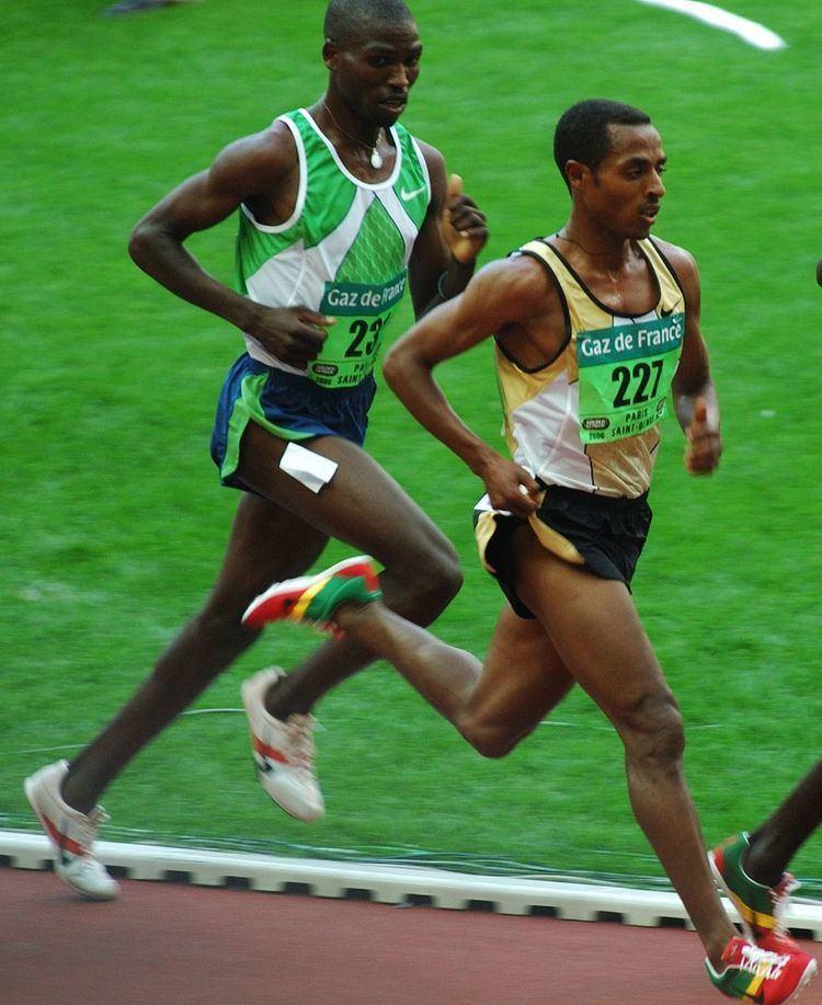 5000 metres world record progression