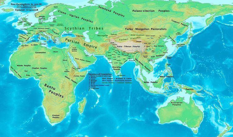 500s BC (decade)