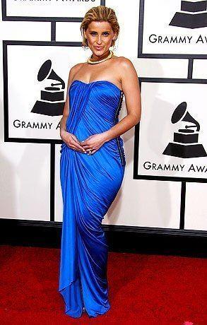 50th Annual Grammy Awards Nelly Furtado arrives at the 50th annual Grammy awards held at the