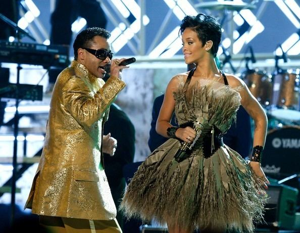 50th Annual Grammy Awards Rihanna and Morris Day Photos Photos 50th Annual GRAMMY Awards