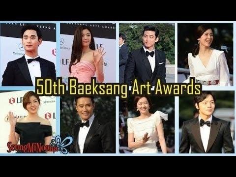 50th Paeksang Arts Awards 50th Baeksang Art Awards 2014 YouTube
