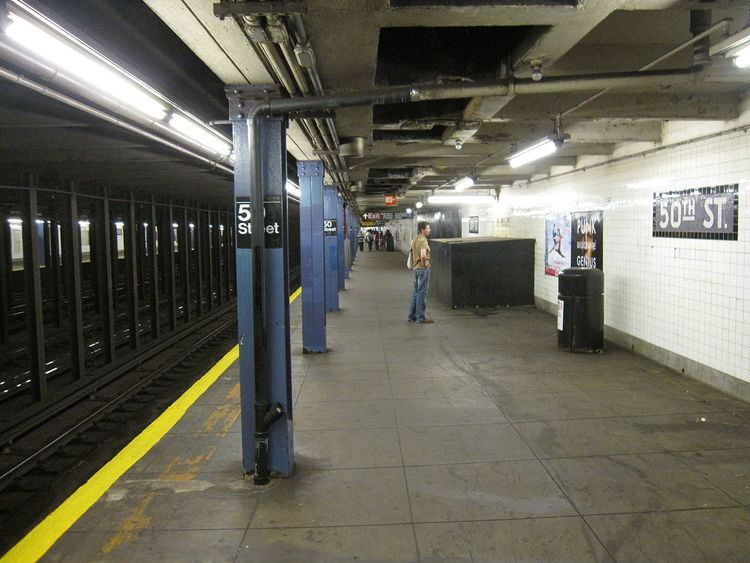 50th Street (IND Eighth Avenue Line)