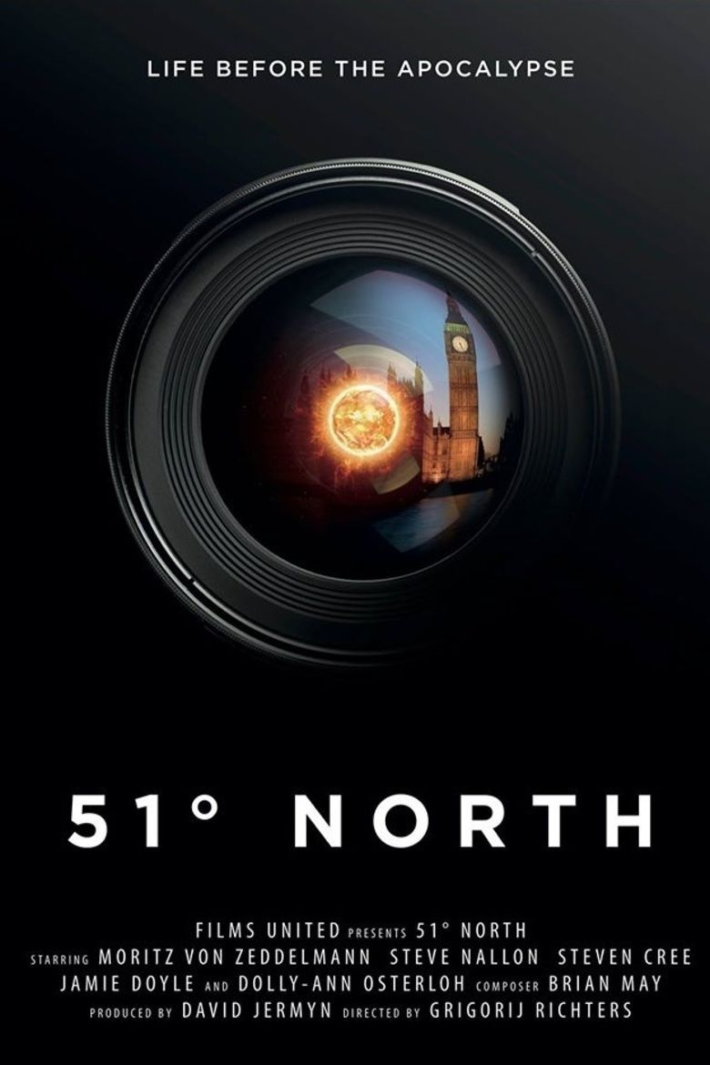 51 Degrees North movie poster