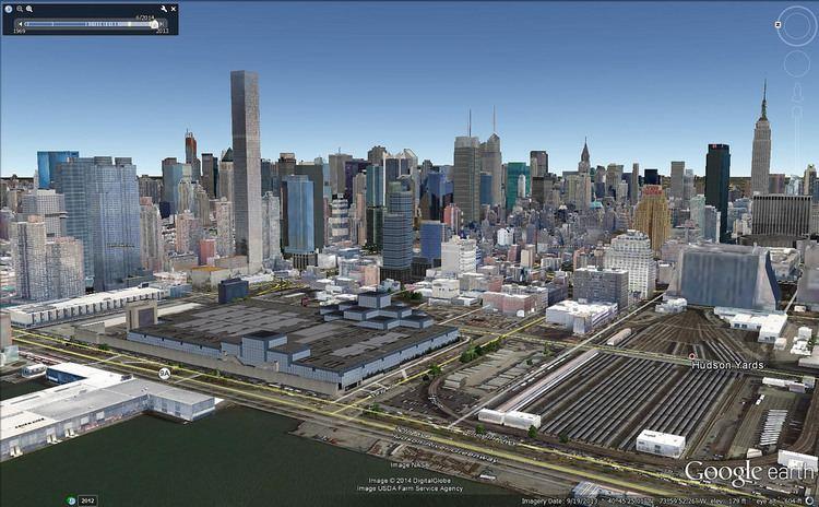 520 West 41st Street NEW YORK 520 West 41st Street 335m 1100ft 106 fl Prep
