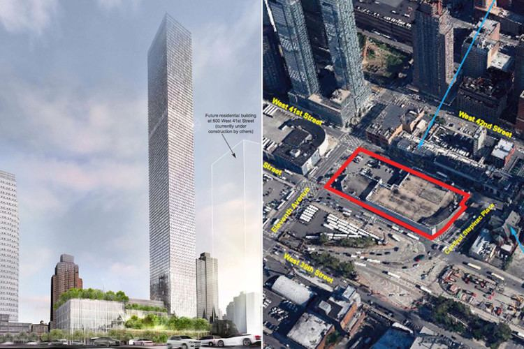 520 West 41st Street Larry Silverstein to build city39s tallest apartment tower New York