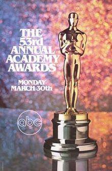 53rd Academy Awards httpsuploadwikimediaorgwikipediaenthumba