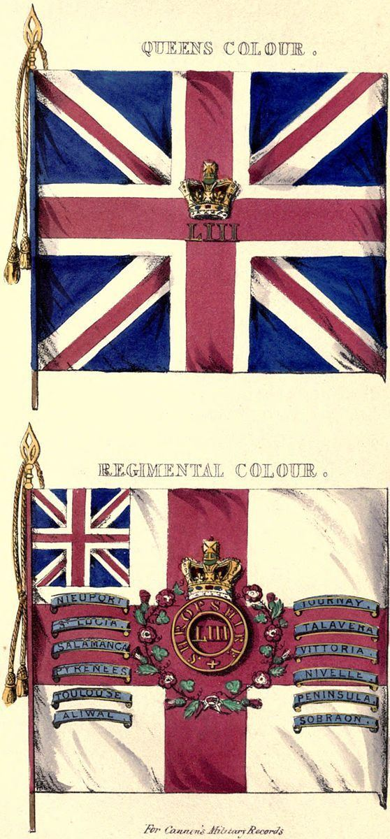 53rd (Shropshire) Regiment of Foot
