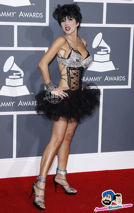 54th Annual Grammy Awards Grammy Awards2012 Singer Nadeea arrives at the 54th annual