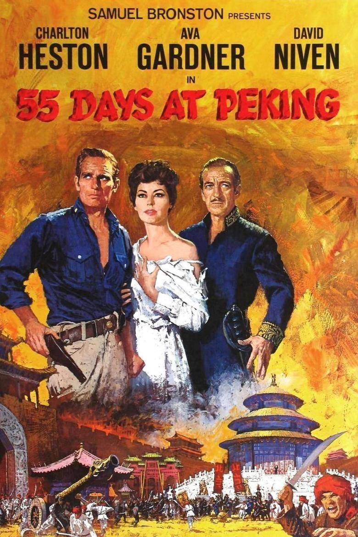 55 Days at Peking movie poster