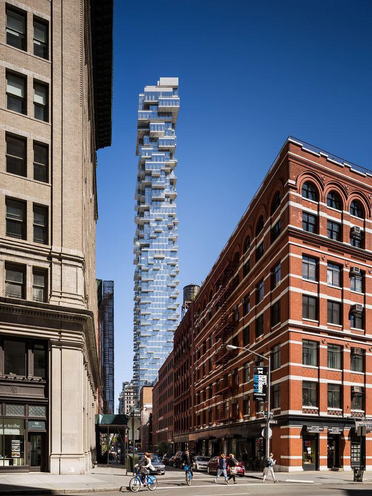 56 Leonard Street 56 Leonard at 56 Leonard St in Tribeca Sales Rentals Floorplans