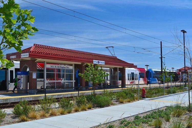 5600 West Old Bingham Highway (UTA station)