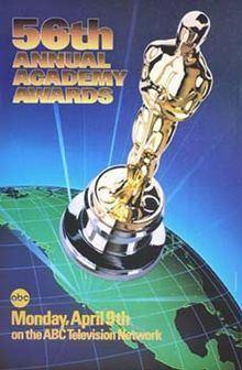 56th Academy Awards httpsuploadwikimediaorgwikipediaenthumbf