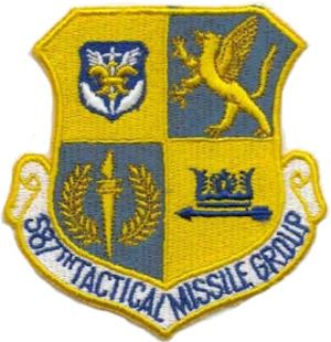 587th Tactical Missile Group