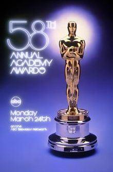 58th Academy Awards httpsuploadwikimediaorgwikipediaenthumbb