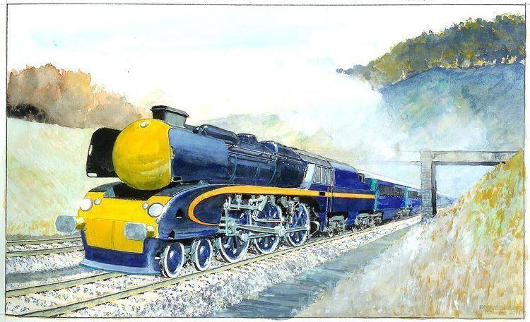 5AT Advanced Technology Steam Locomotive