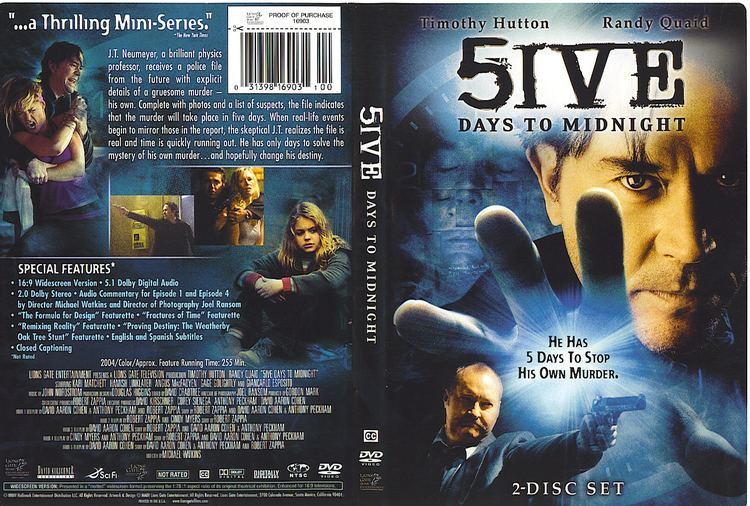 5ive Days to Midnight COVERSBOXSK 5ive days to midnight high quality DVD Blueray