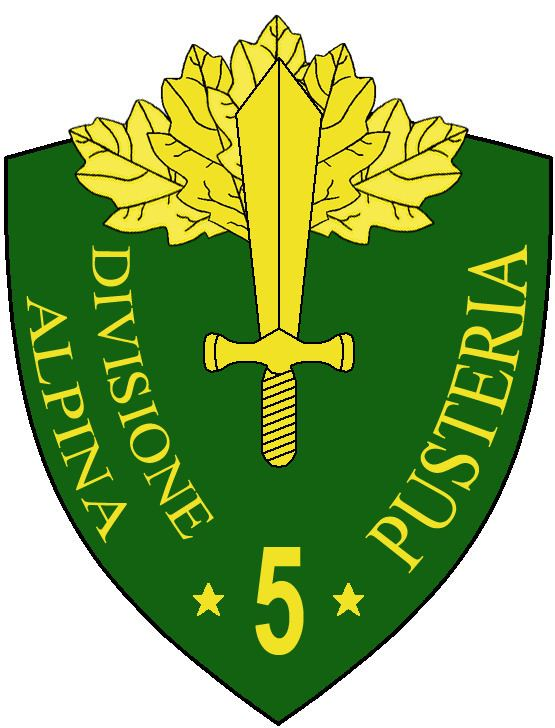 5th Alpine Division Pusteria