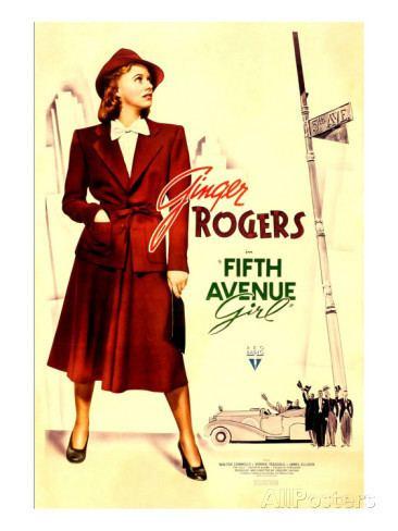5th Avenue Girl Streamline The Official Filmstruck Blog Ginger Rogers Sad Sacks