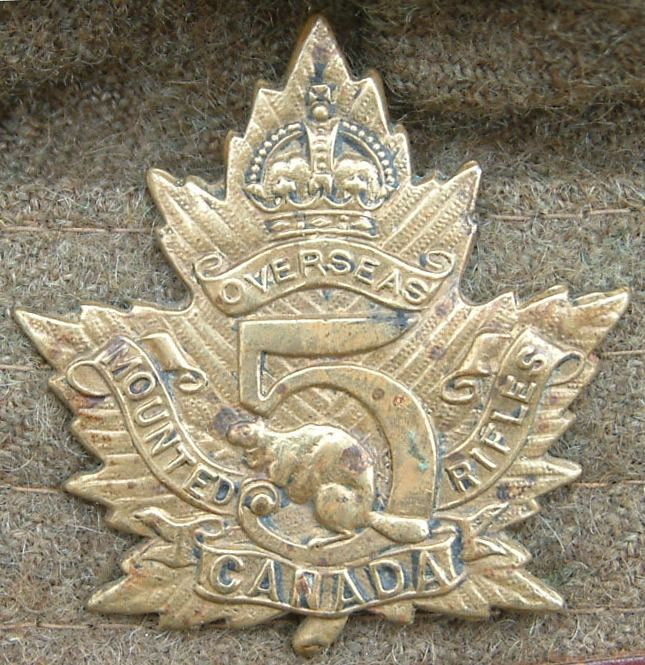 5th Battalion, Canadian Mounted Rifles, CEF