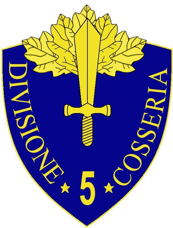 5th Infantry Division Cosseria