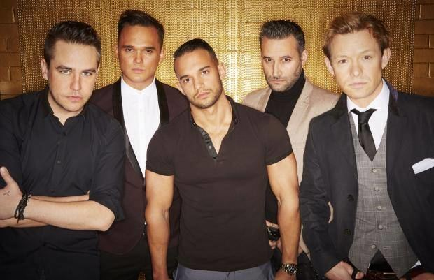 5th Story The Big Reunion Meet superband 395th Story39 ft Gareth Gates and Dane