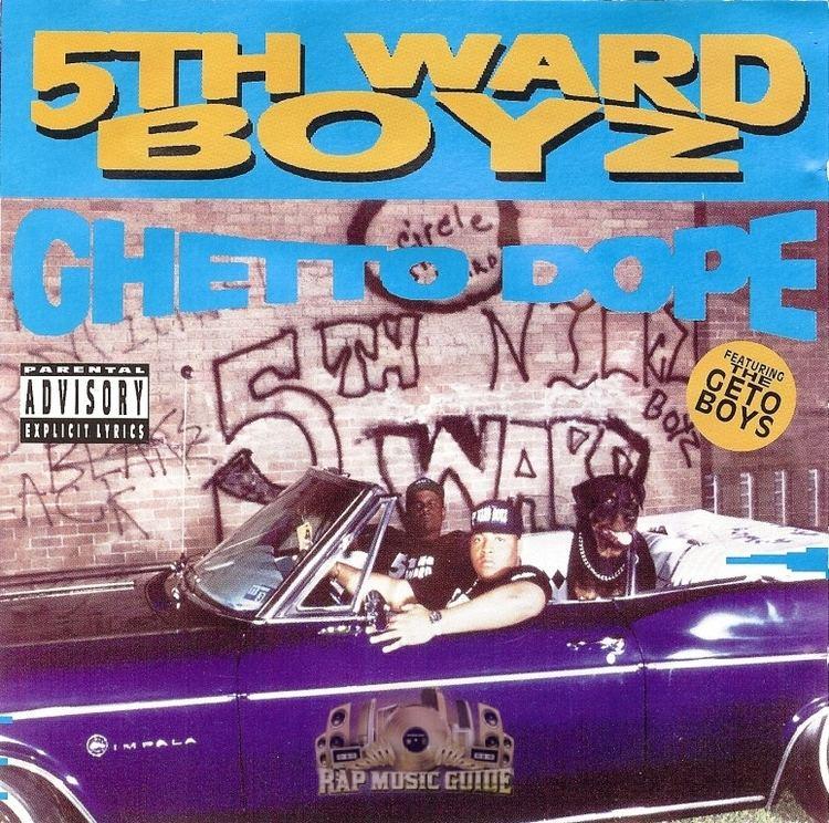 5th Ward Boyz 5th Ward Boyz Ghetto Dope CD Rap Music Guide