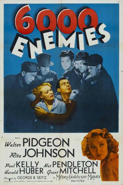 6,000 Enemies movie poster