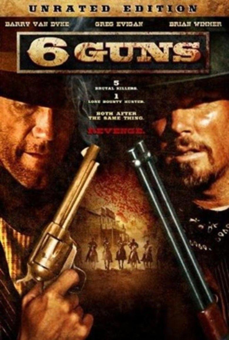 6 Guns movie poster