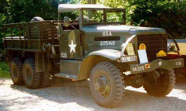 6-ton 6x6 truck