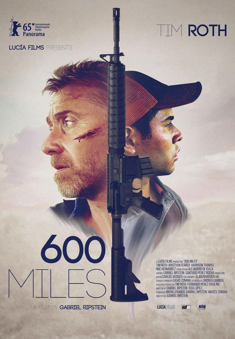 600 Miles movie poster