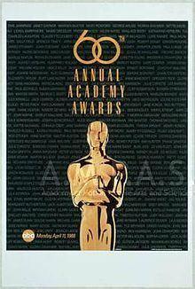 60th Academy Awards httpsuploadwikimediaorgwikipediazhthumbd