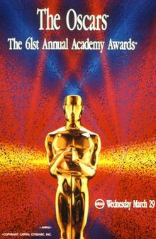 61st Academy Awards httpsuploadwikimediaorgwikipediaenthumb5
