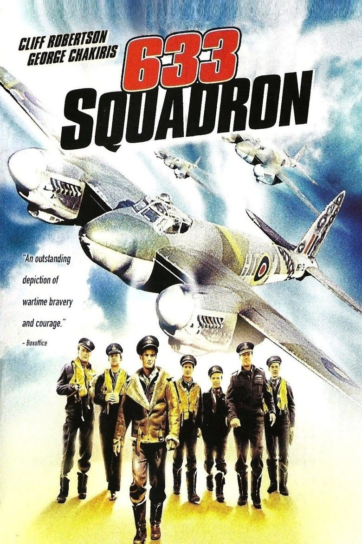 633 Squadron movie poster