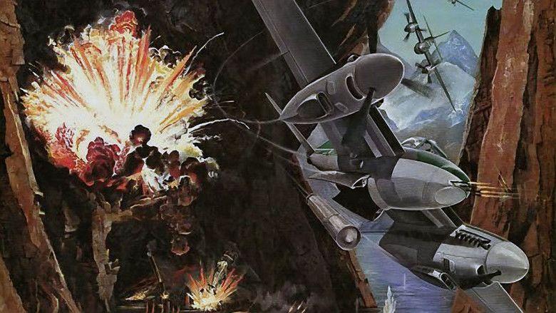 633 Squadron movie scenes